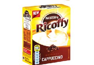 Nescafé Ricoffy Original Instant Cappuccino Sticks 8 x 23g for sale in Hermanus